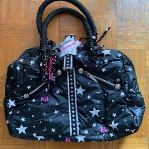 Betsey Johnson Betseyville Galaxy Weekender Bag